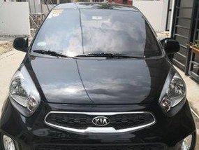 Black Kia Picanto 2016 Manual Gasoline for sale