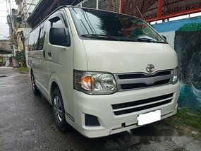 White Toyota Hiace 2013 at 57000 km for sale