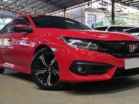 Red 2018 Honda Civic at 14000 km for sale in Quezon City