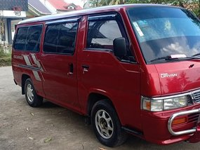 Red 2007 Nissan Urvan Escapade Manual Diesel for sale
