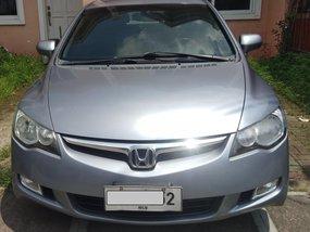 Selling Silver Honda Civic 2008 Automatic Gasoline
