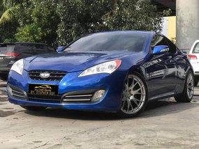 Blue 2010 Hyundai Genesis Coupe for sale in Makati
