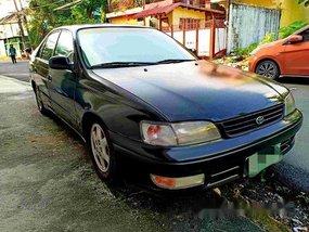Sell Black 1995 Toyota Corona at 170000 km