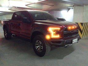 Selling Red Ford F-150 2018 Automatic Gasoline at 7000 km
