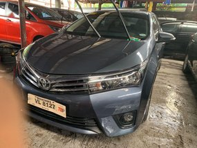 Grey Toyota Altis 2017 for sale in Quezon City