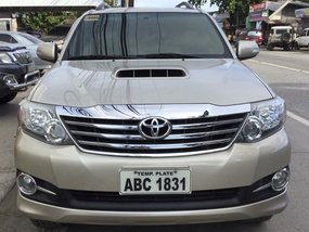 2016 Toyota Fortuner G for sale in Palawan