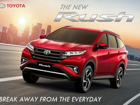 Sell Red 2019 Toyota Rush in Mandaluyong