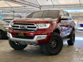 Red 2016 Ford Everest at 33000 km for sale in Makati