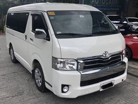 Sell White 2018 Toyota Hiace at 11000 km in Pasig