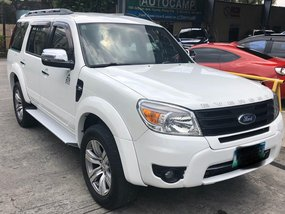 White 2013 Ford Everest for sale in Pasig