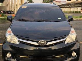 Black Toyota Avanza 2012 Automatic Gasoline for sale