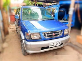 Blue Mitsubishi Adventure 2001 for sale