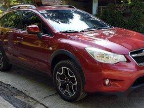 Red Subaru Xv 2013 Automatic Gasoline for sale