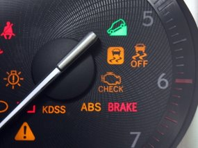 What does Traction Control System (TCS) light mean?