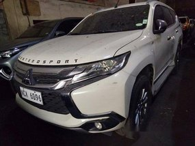 White Mitsubishi Montero Sport 2016 at 43000 km for sale