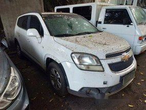 Selling White Chevrolet Orlando 2013 in Makati