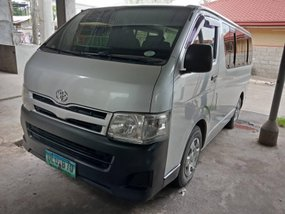 Silver 2013 Toyota Hiace at 60000 km for sale