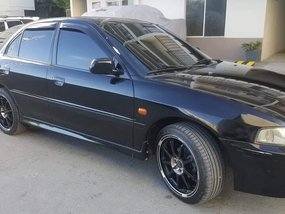 Selling Black Mitsubishi Lancer 2001 Manual Gasoline