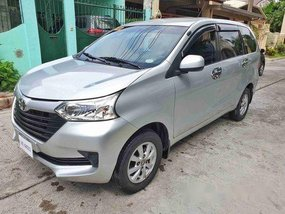Silver Toyota Avanza 2016 for sale in Cavite