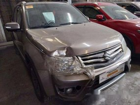 Selling Brown Suzuki Grand Vitara 2015 at 64000 km