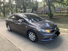 Selling Red Honda Civic 2014 in Quezon City