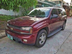 Red Chevrolet Trailblazer 2005 at 60000 km for sale