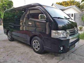 Selling Black Toyota Hiace 2018 Automatic Diesel at 19000 km
