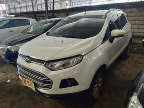 White Ford Ecosport 2016 at 30000 km for sale