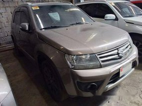 Brown Suzuki Grand Vitara 2017 Automatic Gasoline for sale