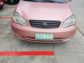 Toyota Corolla Altis 2002 for sale in Quezon City