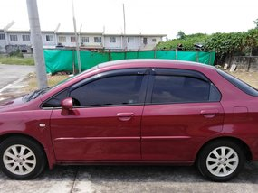 Red 2008 Honda City Automatic for sale in Metro Manila