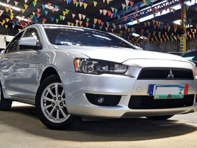 Silver 2010 Mitsubishi Lancer Ex at 42000 km for sale
