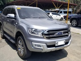 Silver 2016 Ford Everest Automatic Diesel for sale