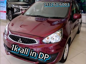 Red Mitsubishi Mirage 2018 Hatchback for sale in Manila