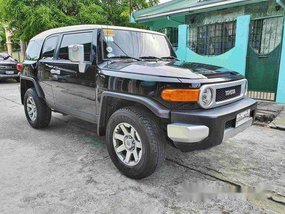 Black Toyota Fj Cruiser 2017 Automatic Gasoline for sale