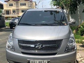 Silver Hyundai Starex 2015 Automatic Diesel for sale