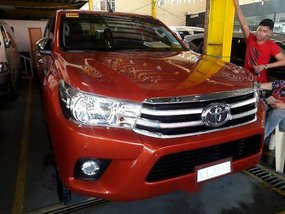 Used Toyota Hilux 2017 at 33421 km for sale in Quezon City