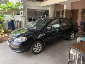 Sell Black 2007 Toyota Corolla Altis at 120000 km in Las Pinas