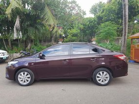 2016 Toyota Vios 1.3 E Manual Maroon for sale in Manila