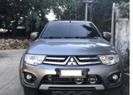 2014 Mitsubishi Montero Automatic Diesel for sale