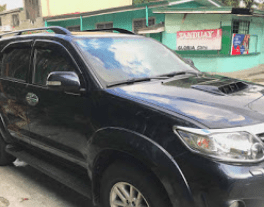 Sell Black 2014 Toyota Fortuner Automatic at 38000 km