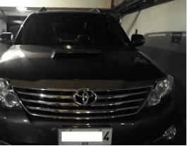 2nd Hand 2015 Toyota Fortuner for sale in Pasig