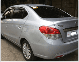 Used 2016 Mitsubishi Mirage G4 Sedan for sale in Pasig
