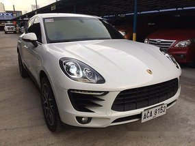 White Porsche Macan 2015 Automatic Diesel for sale