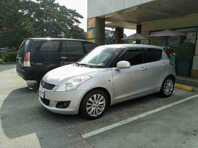 Sell Silver 2014 Suzuki Swift Manual Gasoline at 68000 km