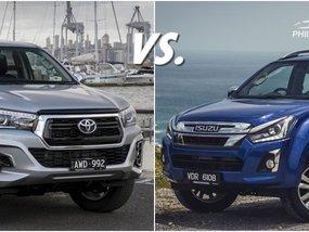 [Pickup shootout] Isuzu D Max vs Hilux: Spec comparison of the big & tough!