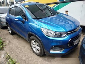 Blue Chevrolet Trax 2017 Automatic Gasoline for sale