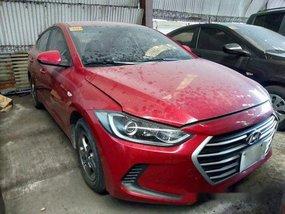 Sell Red 2017 Hyundai Elantra at 16000 km
