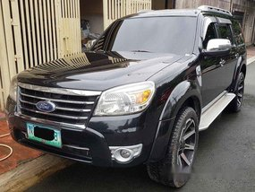 Black Ford Everest 2010 Automatic Diesel for sale