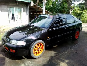 Selling Black Honda Civic 1994 Manual Gasoline in Naga
